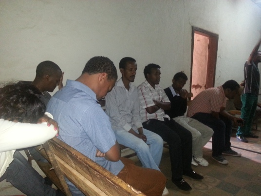 A meeting in Bahir Dar